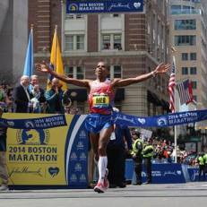 Boston Marathon Winner