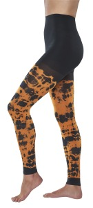 tie dye compression leggings