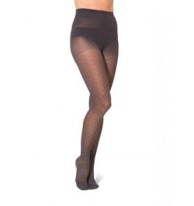 Diamond pattern compression stockings