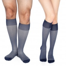 Pattern compression socks