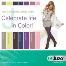 juzo spring colors 2015