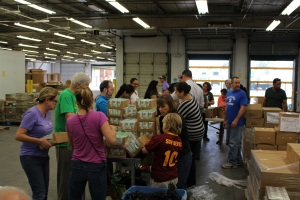 volunteer event united food bank
