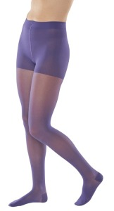 Colorful compression stockings